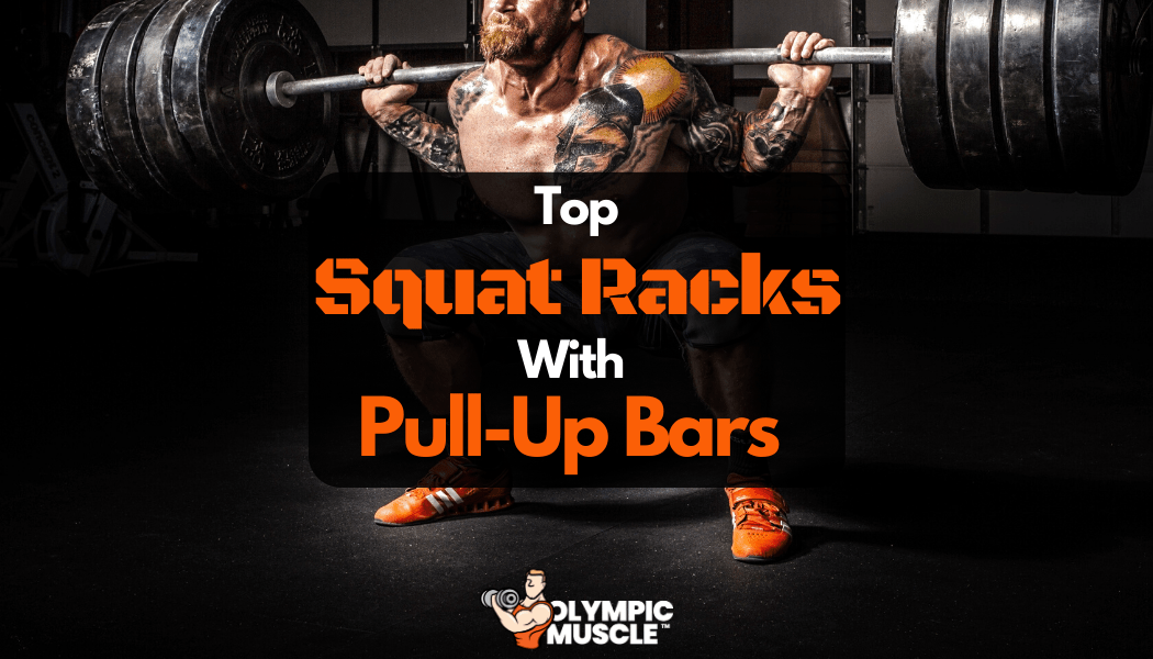 squat rack with pull up bars
