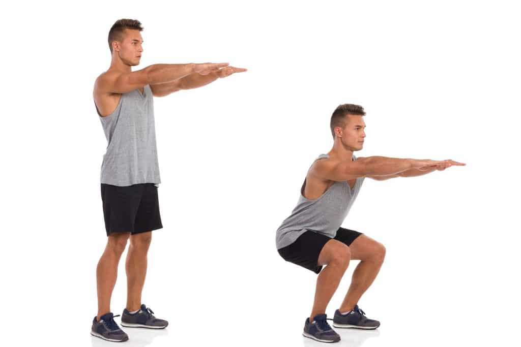 How to do a squat.