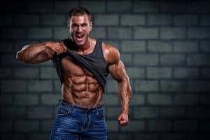 High testosterone male