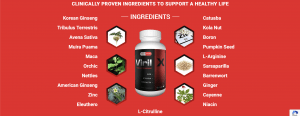Viril X ingredients