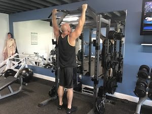 How to do a pull up step 1