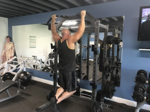 How to do a pull up step 2