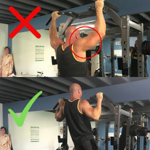 Pull Up Mistake #2 Rolling Shoulders