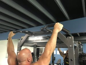 Hand Position for Pull up (Supinated)